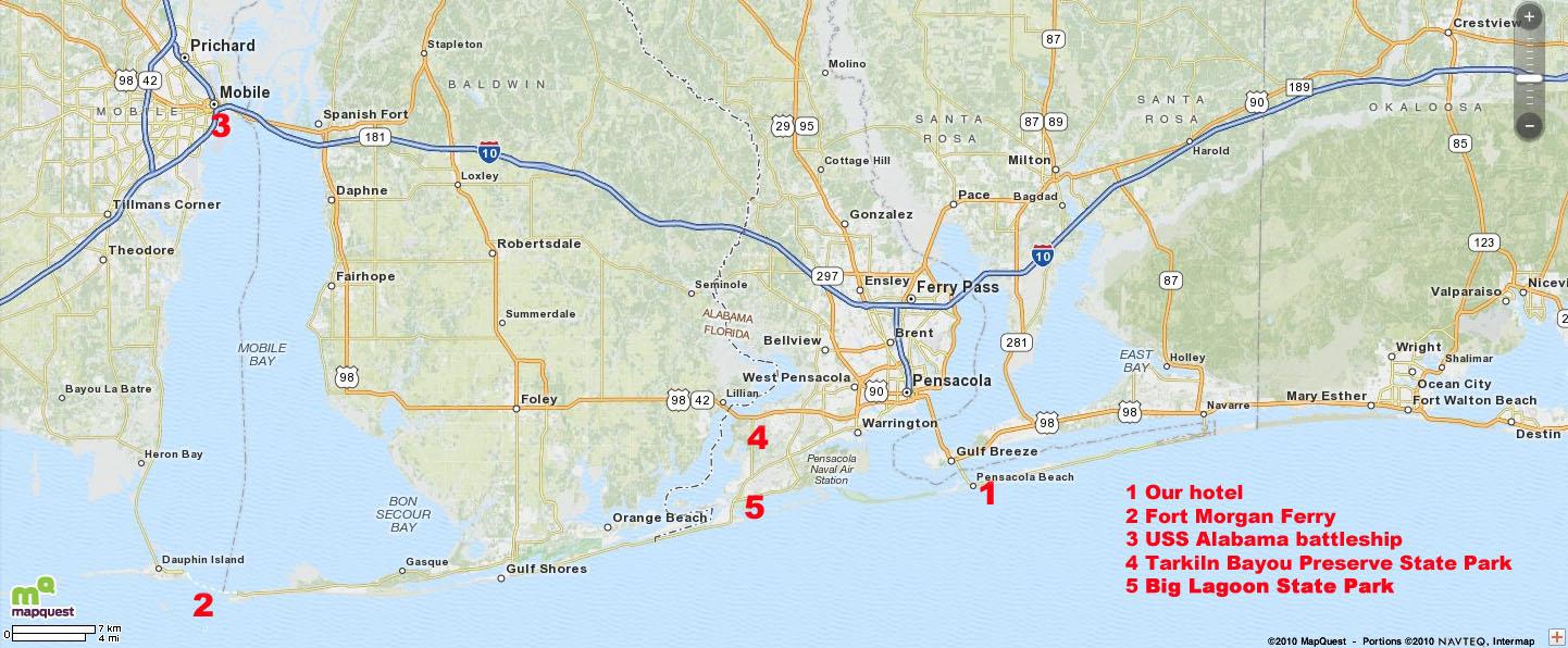 Map Of Florida Panhandle Hotels.Scott Adams Family Pensacola Beach Florida September 28 October