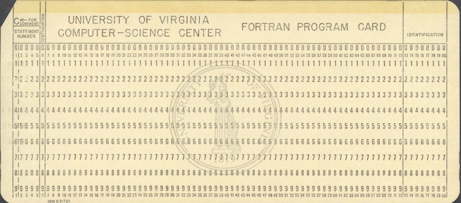 A Collection of Punched Cards